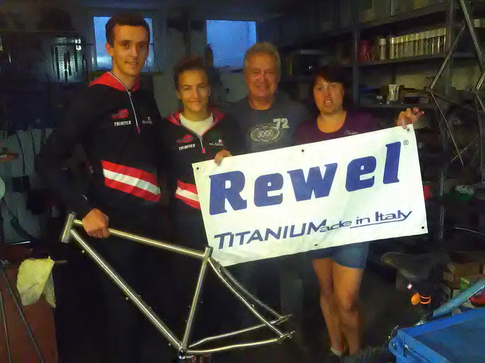 neues Bike von REWEL fü Lea